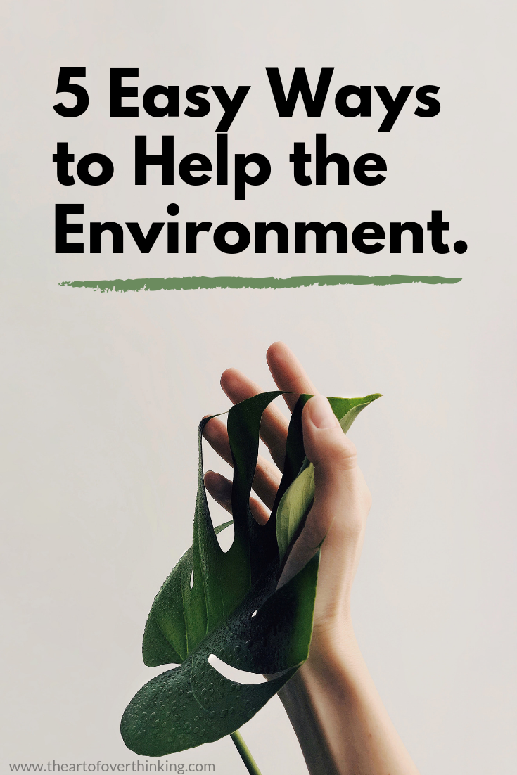 5 Easy Ways To Help The Environment.